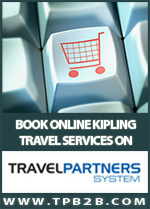 Book online Kipling services B2B and B2C on the travel agencies affiliated