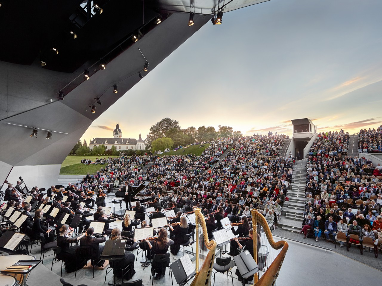 Vienna and the Grafenegg Music Festival: 01 Sept 2020