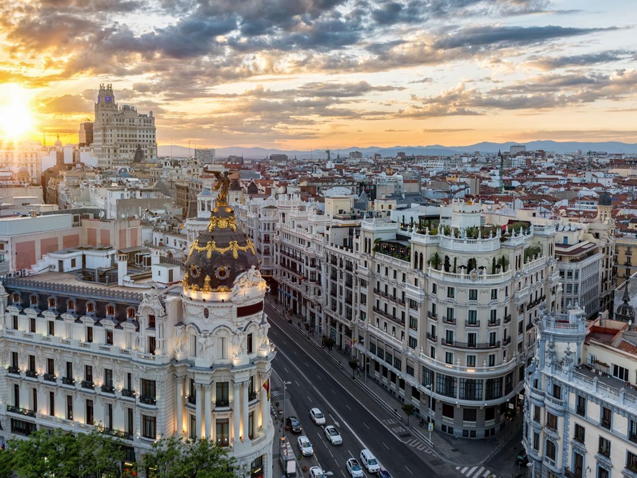 Primo maggio a Madrid