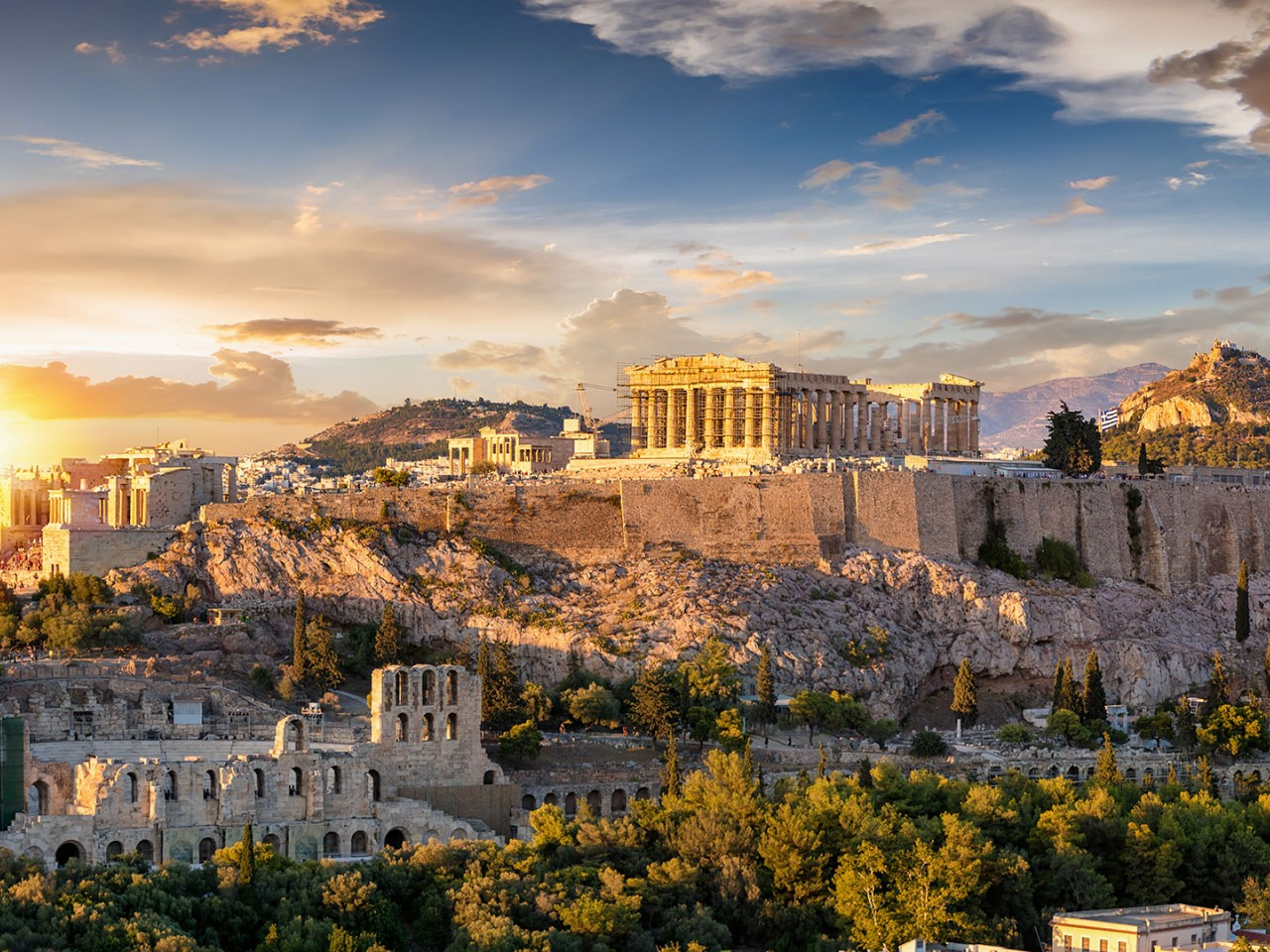 Primo maggio ad Atene