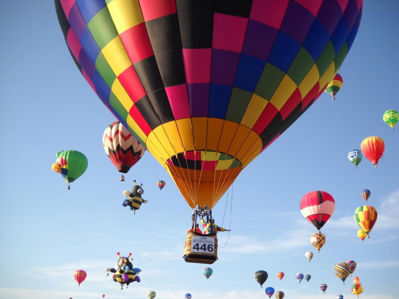 Air Balloon over Halkidiki