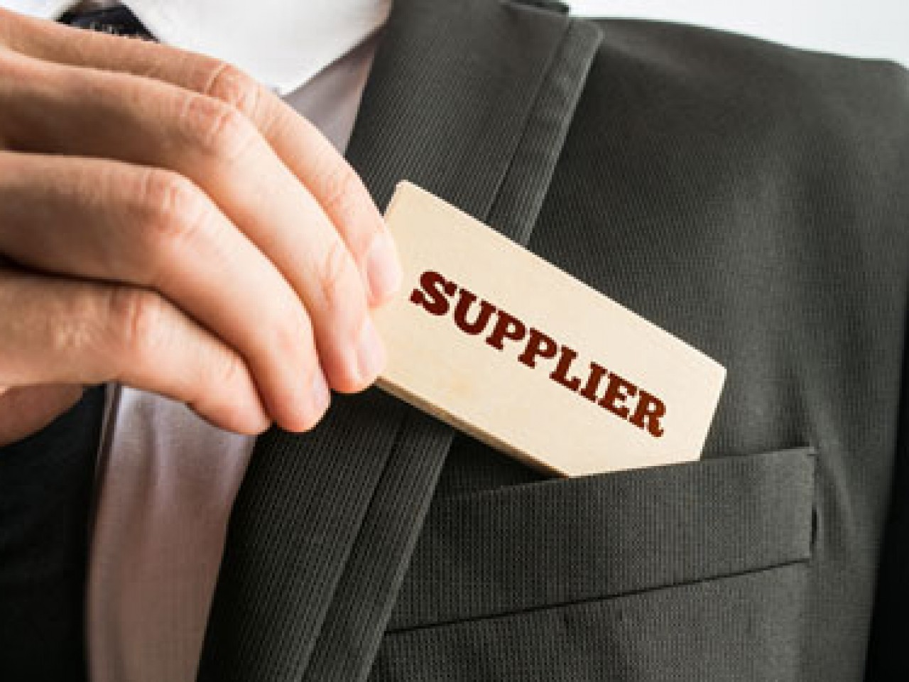 Are You a Supplier?