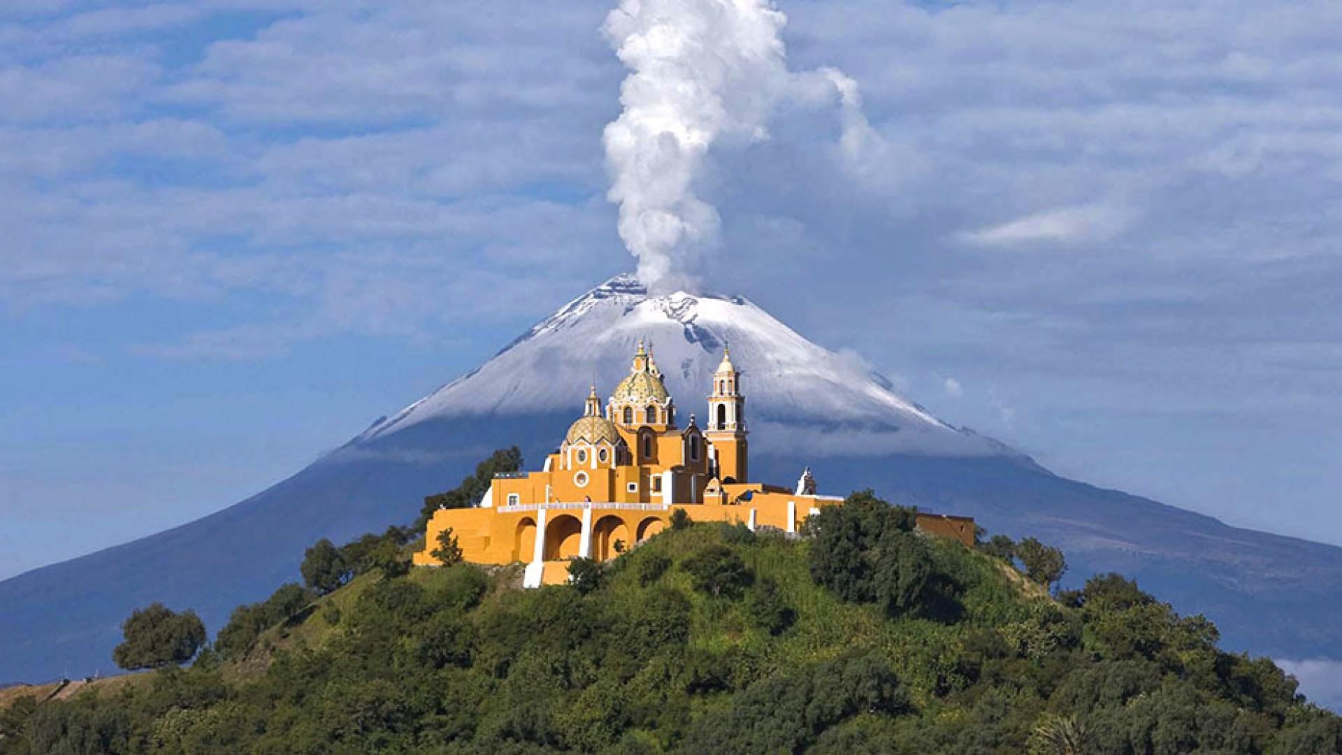 Pyramid of Cholula & Puebla
