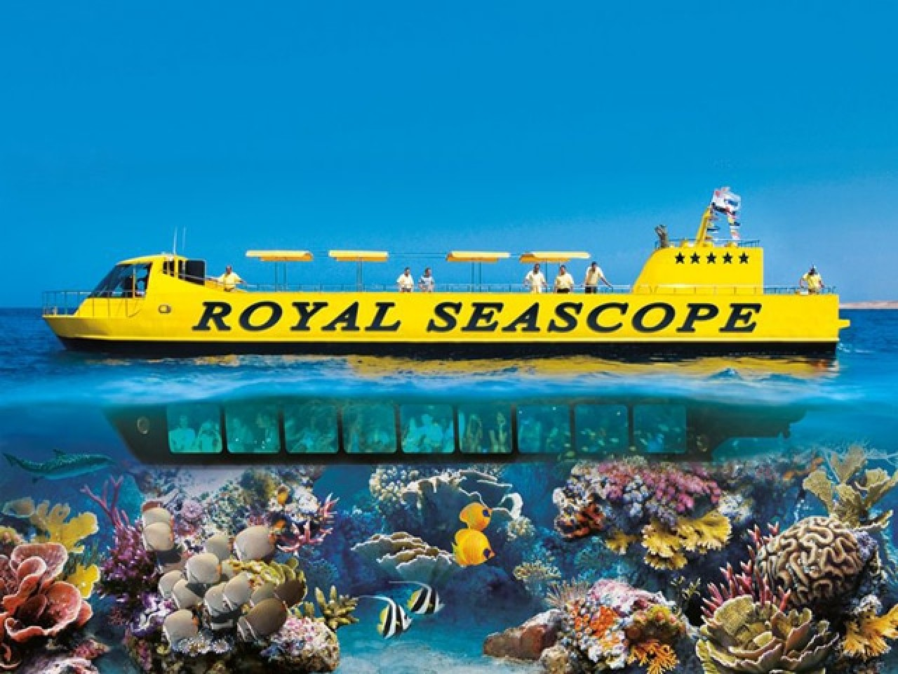 Hurghada: Semi-submarine Trip (2 hrs)