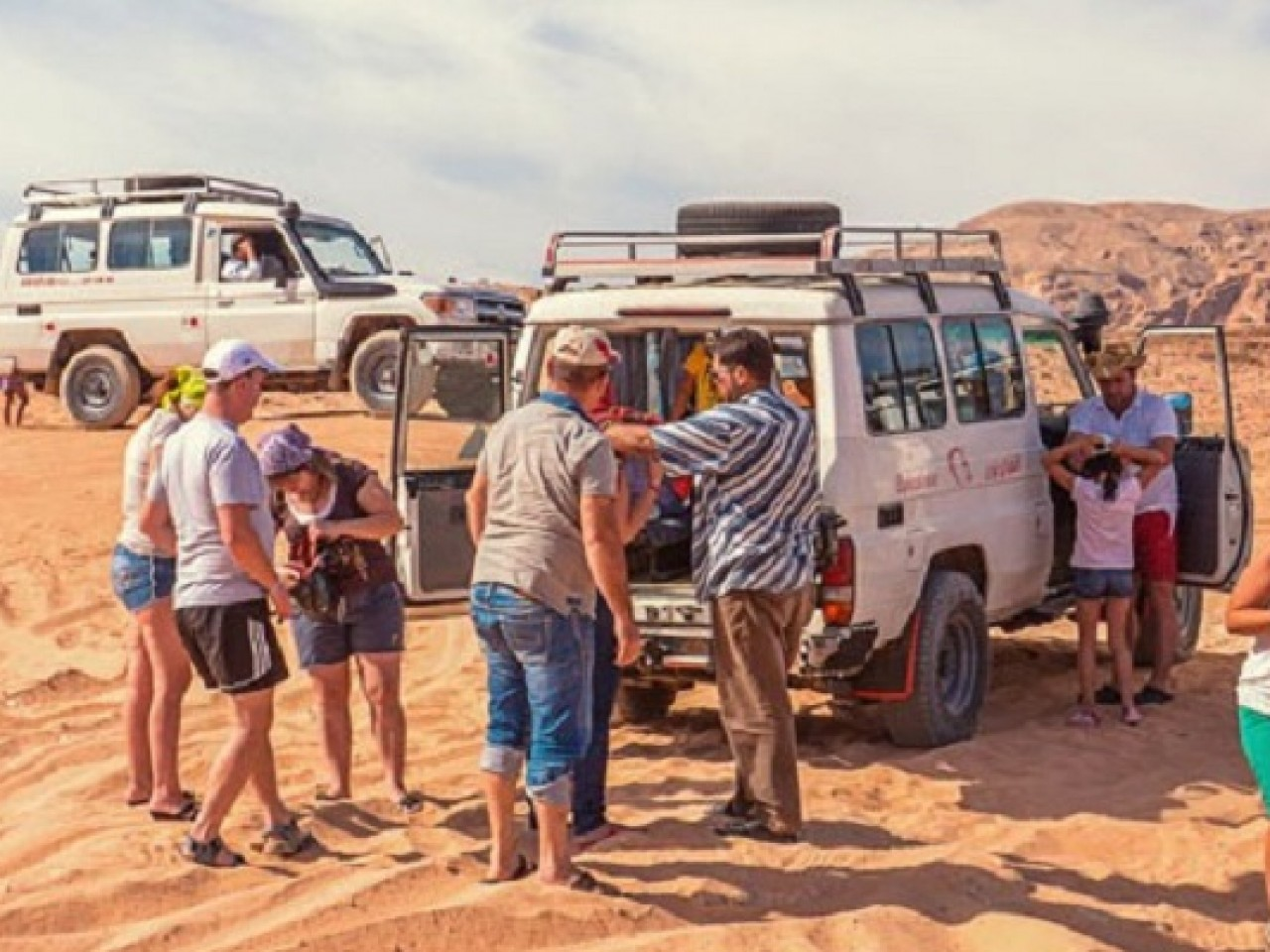 Jeep Safari, Camel Rides, Bedouin Village and BBQ