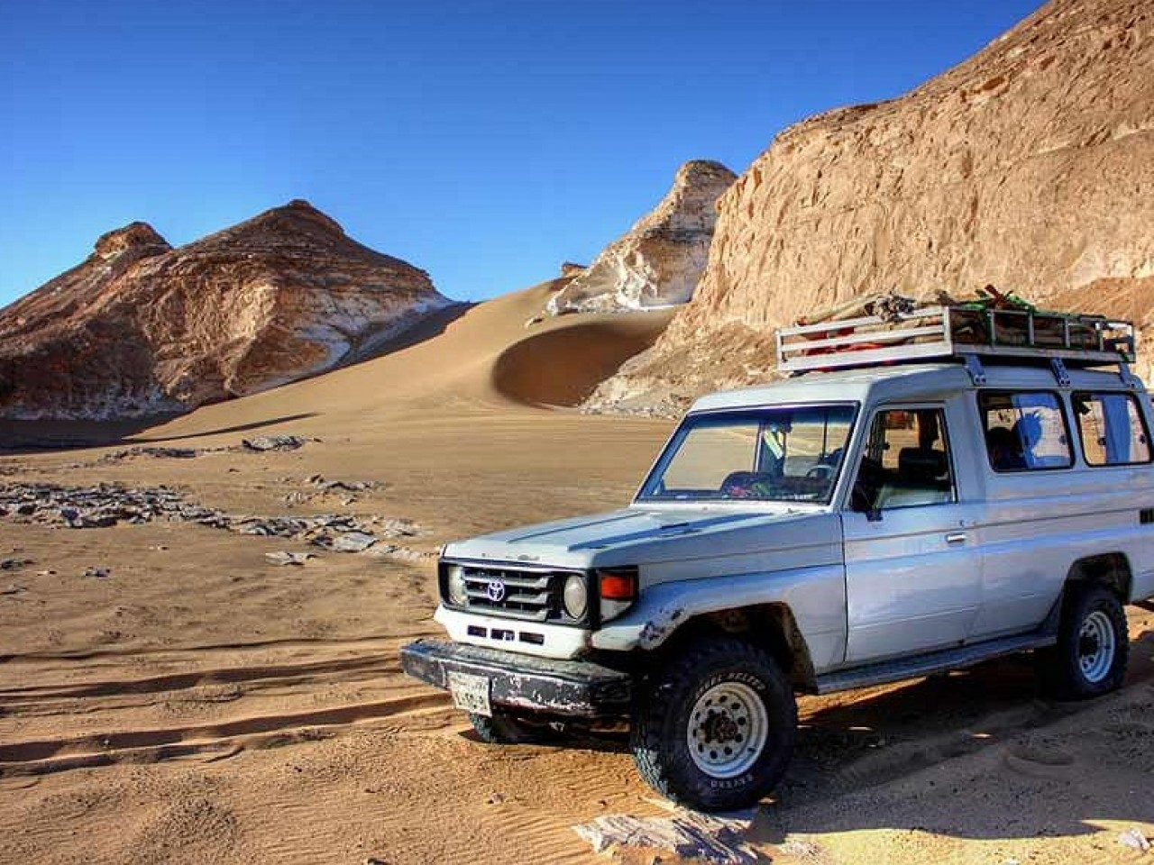 Blue Hole Jeep Safari, Camel Rides, Snorkelling and BBQ