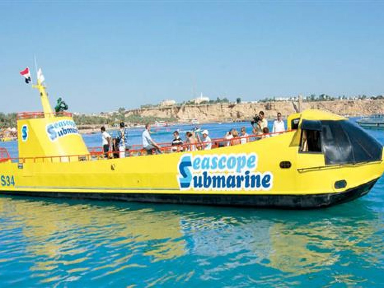 Sharm El Sheikh: Semi-submarine Trip (2 hrs)