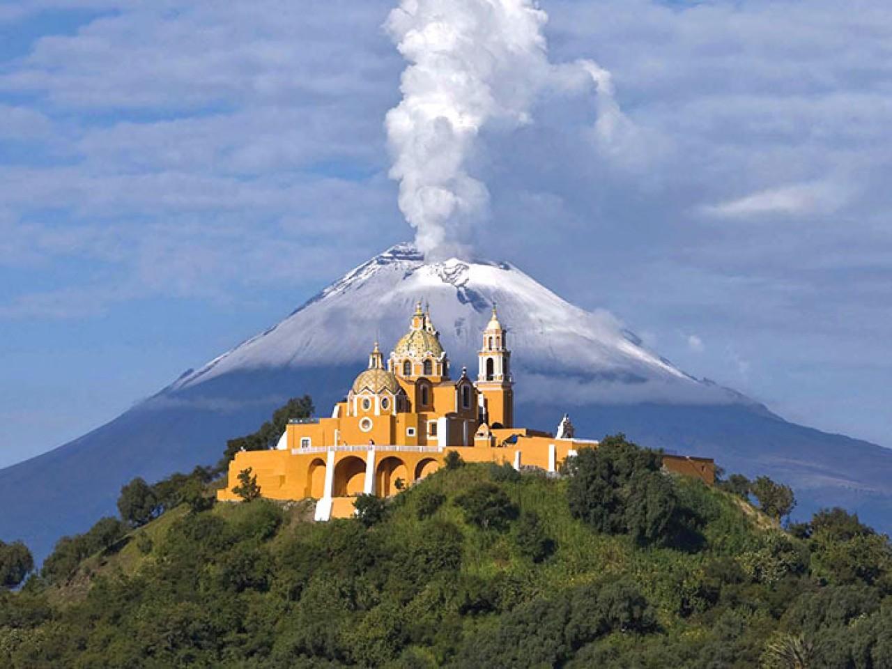 Puebla & Pirámide de Cholula