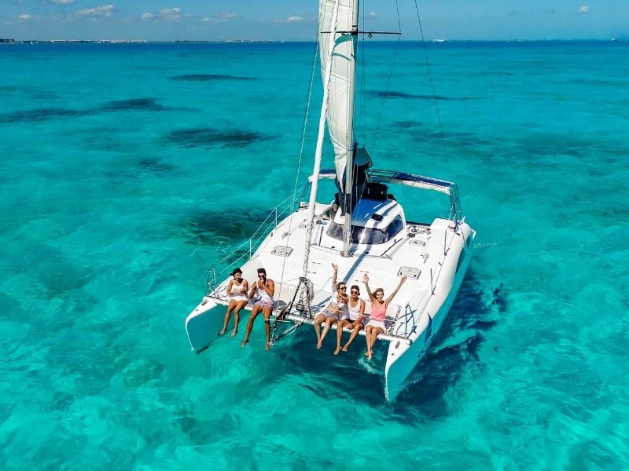 Catamarano Isla Mujeres