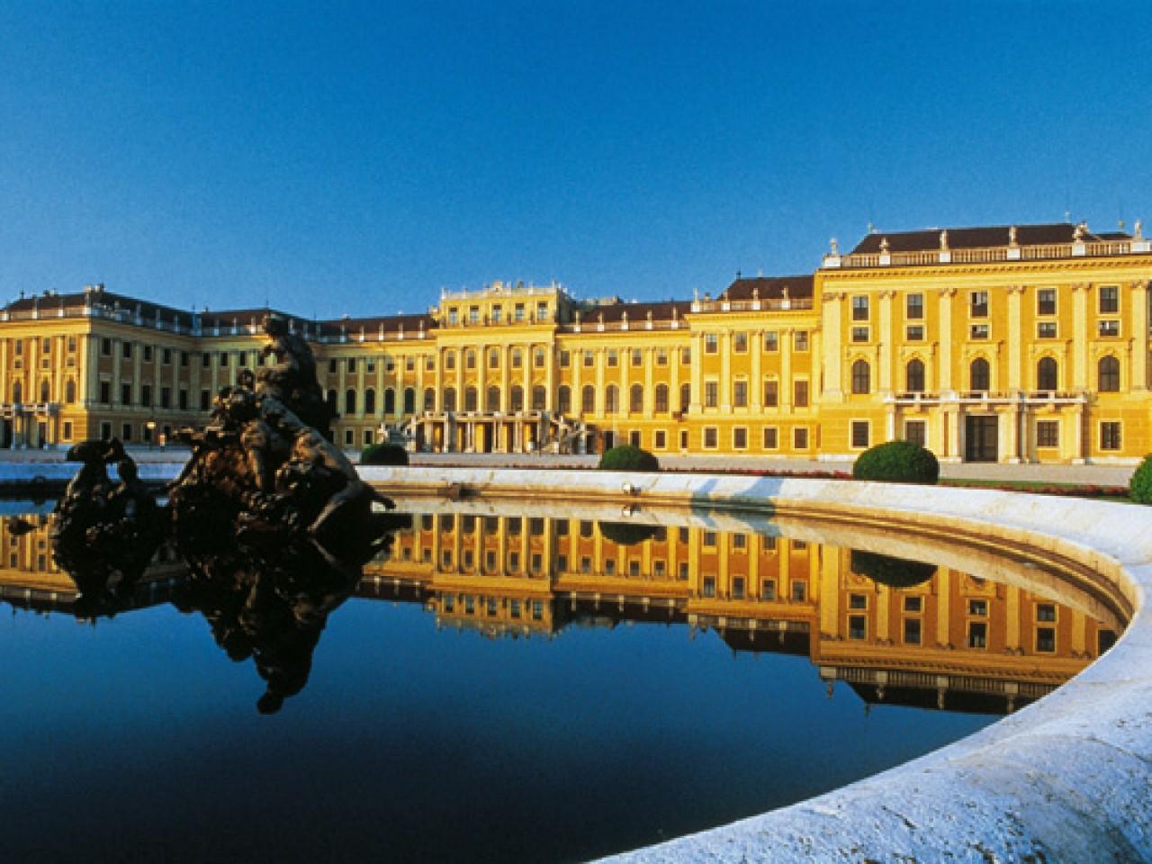 Orangery at the Schonbrunn Palace