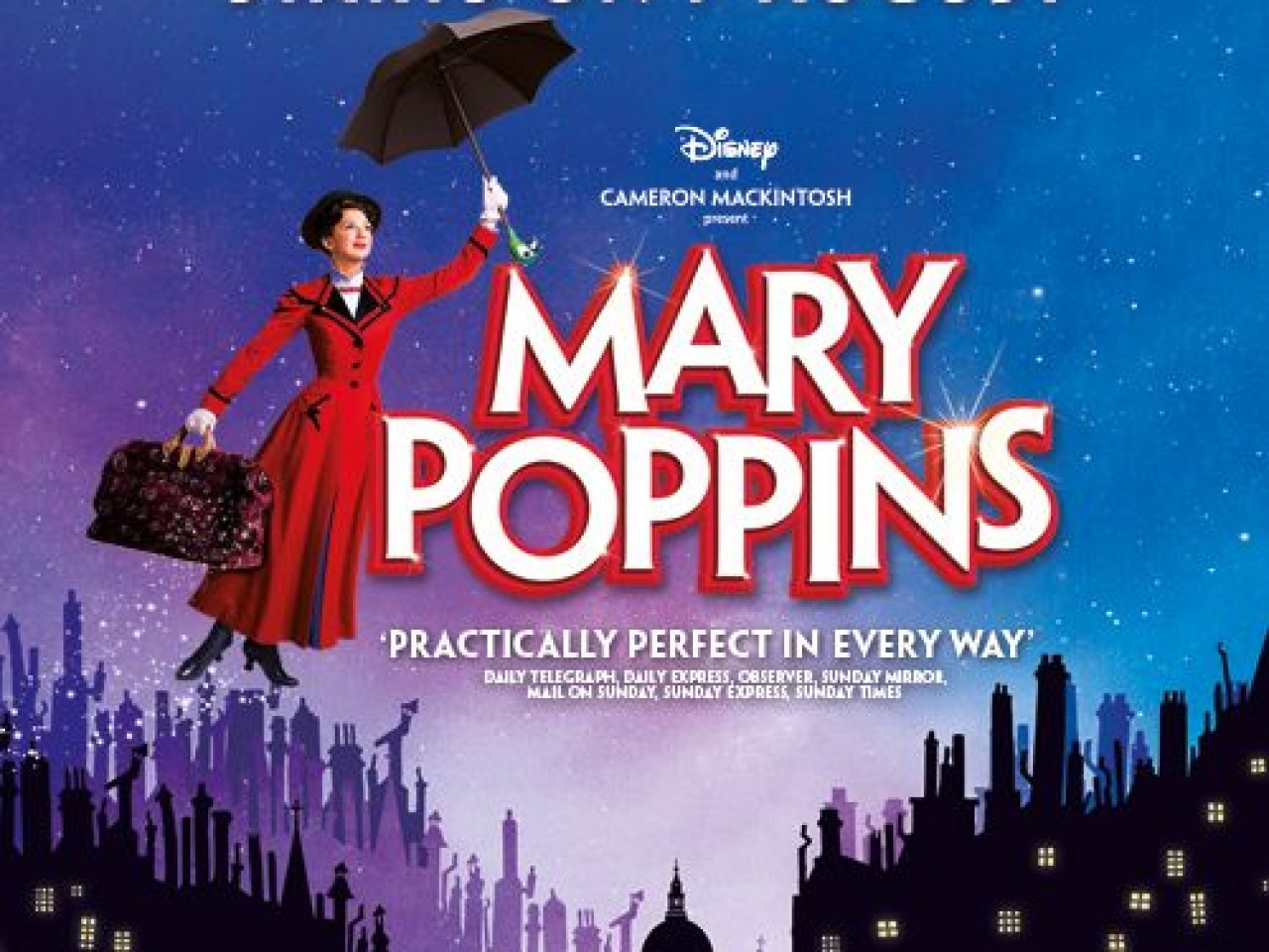Mary Poppins Hotel & Ticket packages