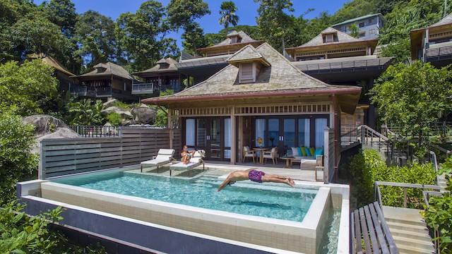 grand Oceanview villa