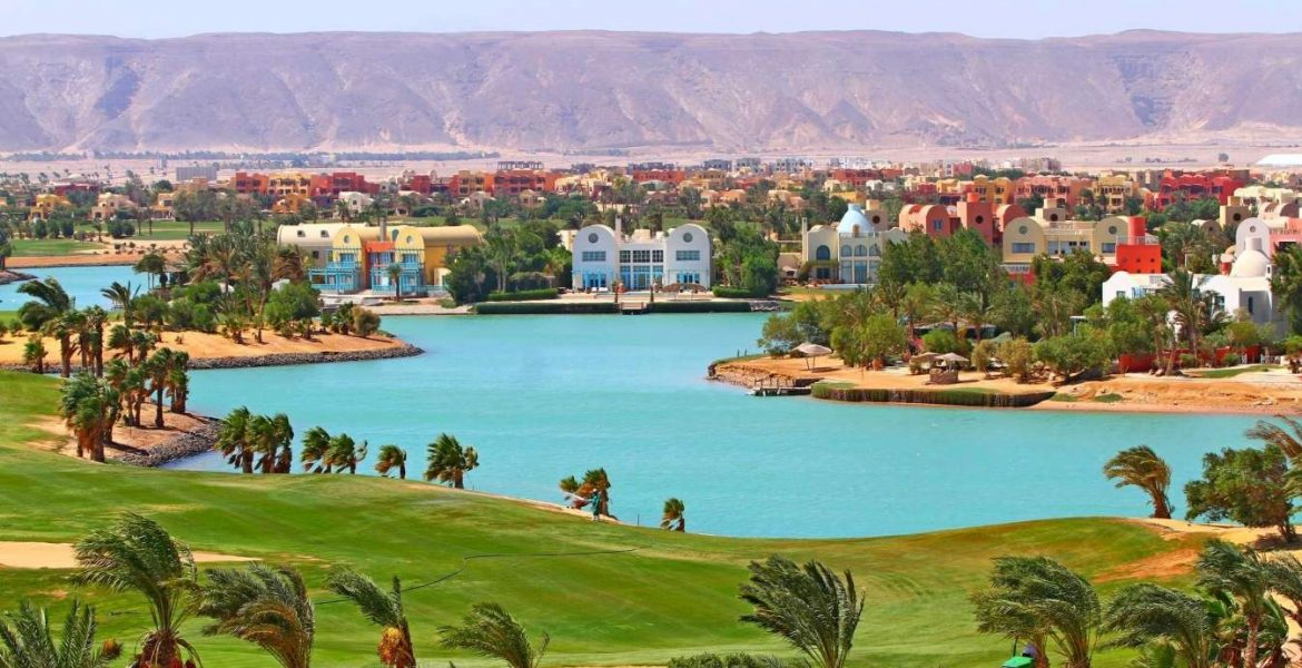 El Gouna Resort, Red Sea, Egypt
