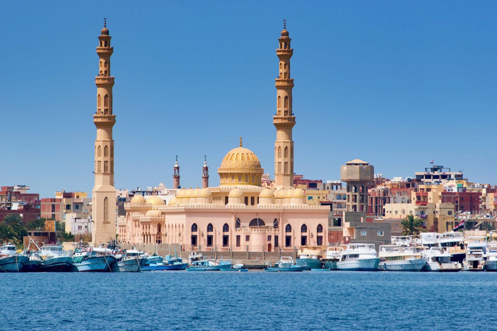 El Marina Mosque, Hurghada